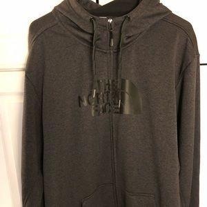 Dark Grey North Face Jacket